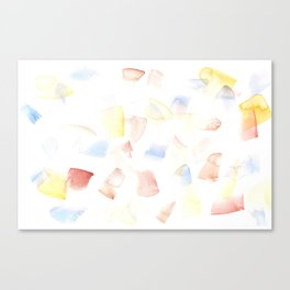 180515 Watercolour Abstract wp 14| Watercolor Brush Strokes Canvas Print
