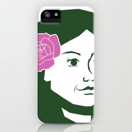 flowers in your hair iPhone Case