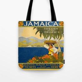 Vintage poster - Jamaica Tote Bag