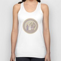 tapestry Tank Tops featuring tapestry...  by studiomarshallarts