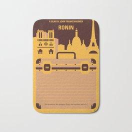 No801 My RONIN minimal movie poster Bath Mat