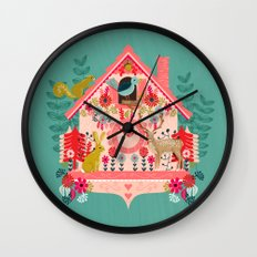 I'm Cuckoo For You - Valentines Cuckoo Clock  Wall Clock