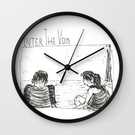 enter the void Wall Clock