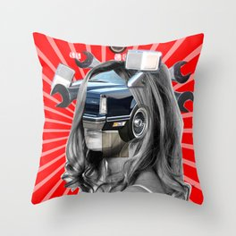 CNN War Theme · Monolithic Baby Throw Pillow
