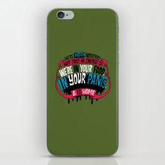Koch In Your Pants iPhone & iPod Skin