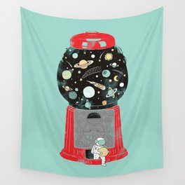 My childhood universe Wall Tapestry