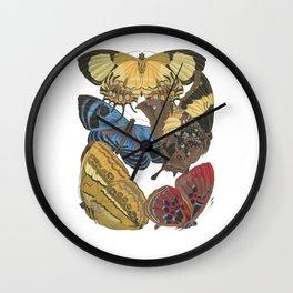 Papillions...aka Butterflies Wall Clock