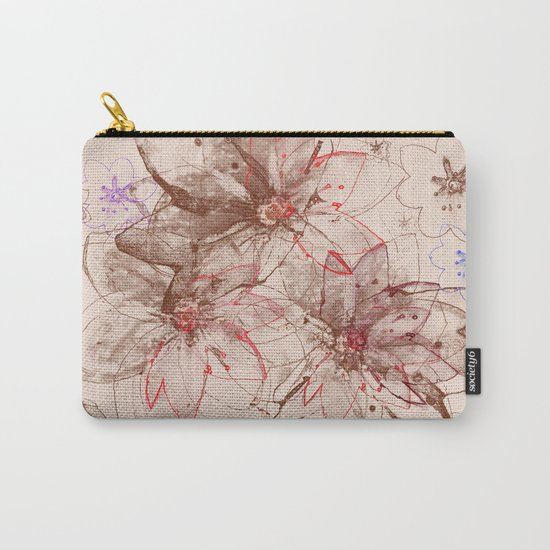 Whirlwind of petals(6). Carry-All Pouch