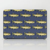 trout iPad Cases featuring Brown Trout by Trinity Mitchell