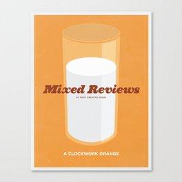 Mixed Review - A Clockwork Orange Canvas Print
