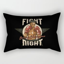 Sports - Heavyweight - Fight Night Rectangular Pillow