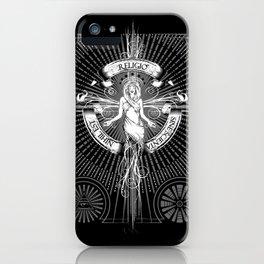 Religio Sine Scienta Nihil Est iPhone Case