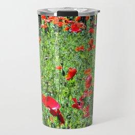 Sea of Poppies Travel Mug