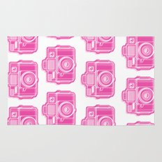 I Still Shoot Film Holga Logo - Pink Rug