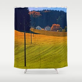The powerline is just fine Shower Curtain