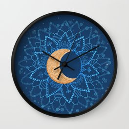 moon shine Wall Clock