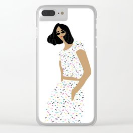 Kelly Clear iPhone Case