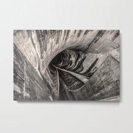 Dam Reticulation Metal Print