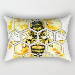 Hive Mentality Rectangular Pillow