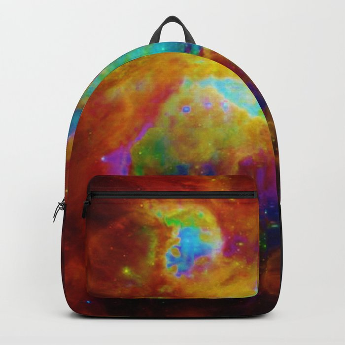 Orion NEBula  : Colorful Galaxy Backpack