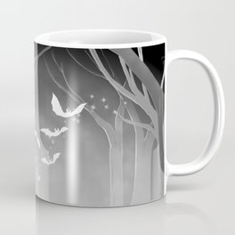 Dark Forest at Dawn Coffee Mug