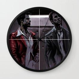 Tyler To Tyler Wall Clock