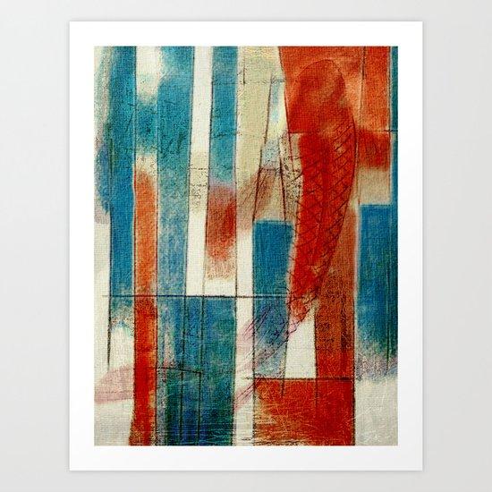 混合动力 (Mixing Power) Art Print