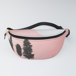 Pink Sunny Field Fanny Pack