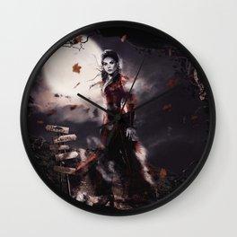 OUAT Halloween / Ghost Queen Wall Clock