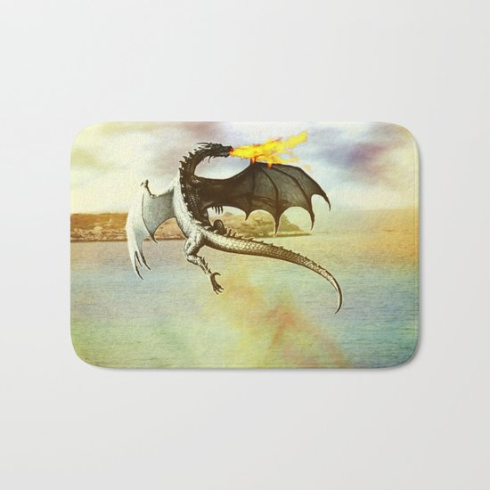 The Dragon Bath Mat