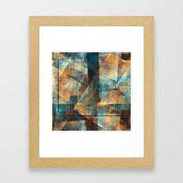 Urban Blight Framed Art Print