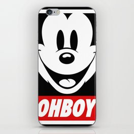 Oh Boy! iPhone Skin