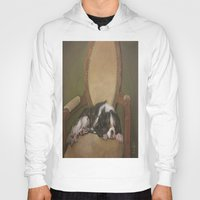 downton abbey Hoodies featuring Abbey by Ambre Wallitsch