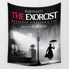 Mary Poppins in the Exorcist Wall Tapestry