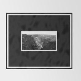 Waimea Canyon Throw Blanket