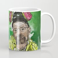 walter white Mugs featuring Walter White  by Madows