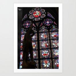 Saint Michel Art Print