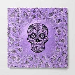 Skull20170241_by_JAMFoto Metal Print
