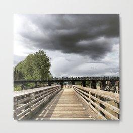 Storm Path Metal Print