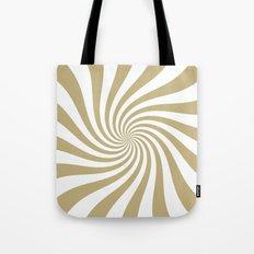 Swirl (Sand/White) Tote Bag