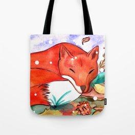 Fox of Autumn Tote Bag
