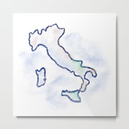Italy in my heart Metal Print