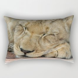 Lion_20141202_by_JAMFoto Rectangular Pillow
