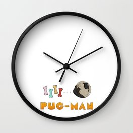 Pugman Wall Clock