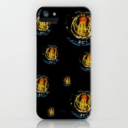 The Electric Current:  Filament Lights iPhone Case