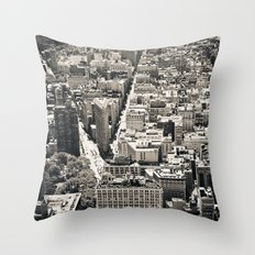 Flatiron Throw Pillow