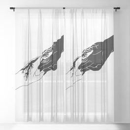 Venom Sheer Curtain