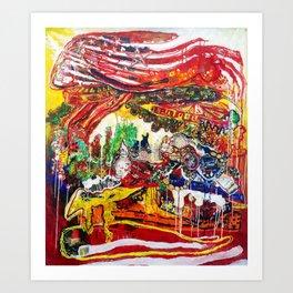 American Consumption  Art Print