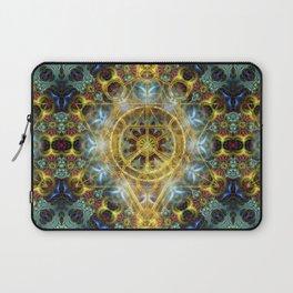Sacred Geometry Fractal Mandala Laptop Sleeve