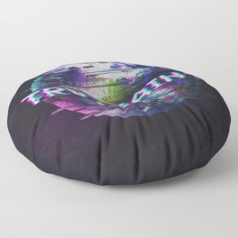 Humanity Glitch Floor Pillow